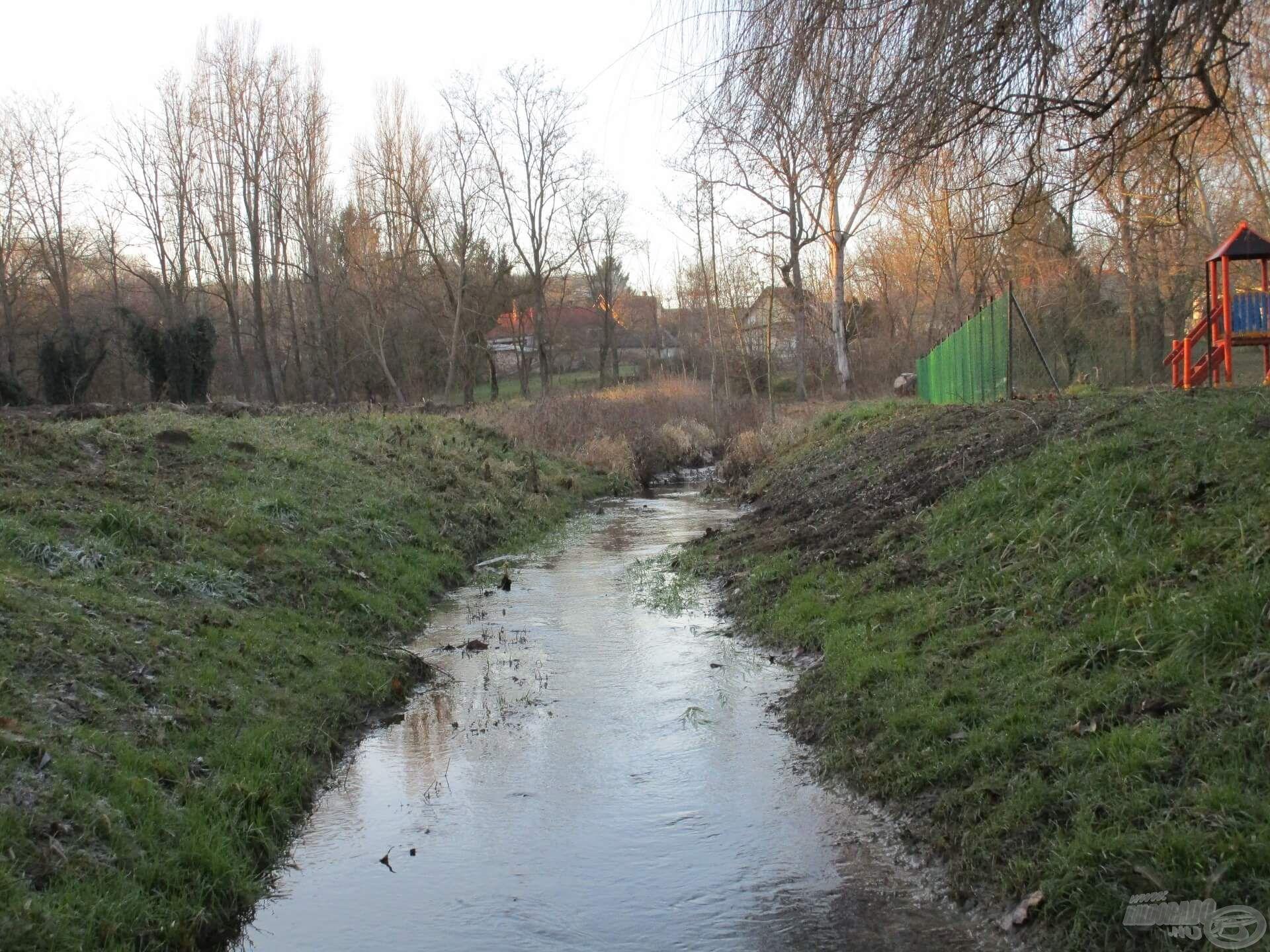 A patakok vízszintje a hóolvadás után megemelkedik