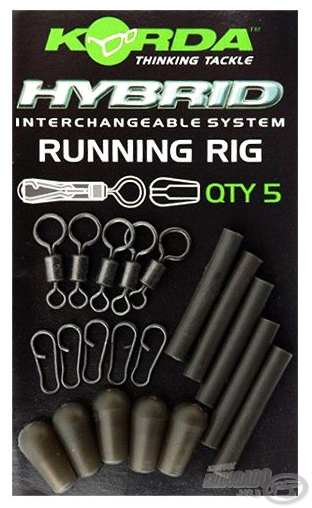 A praktikus Running Rig csomag tartalma 5 komplett szerelék összeállítására alkalmas alkatrész