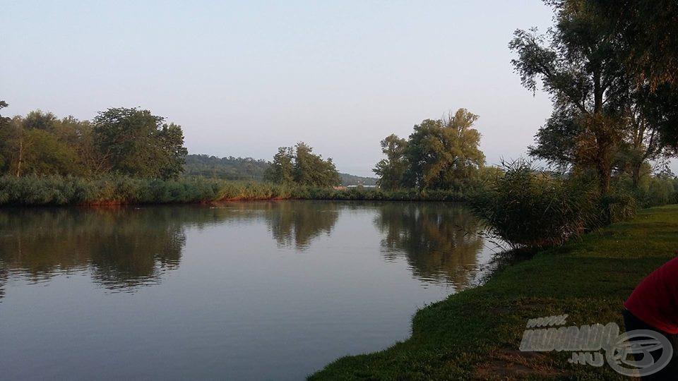 A tó reggeli arca