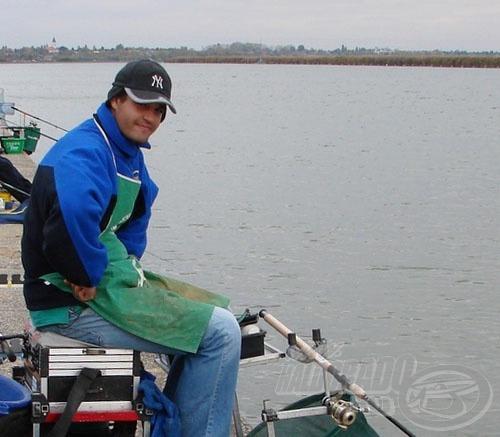 Ifj. Sipos Gábor a délutáni fenekező horgászatban is remekelt, szektorában az első helyet szerzete meg!