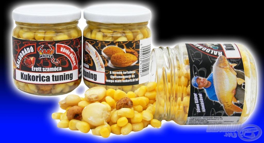 Bízunk benne, hogy az új üveges kukoricánkkal is horogra csalnak a horgászok jó pár szép pontyot, amurt!
