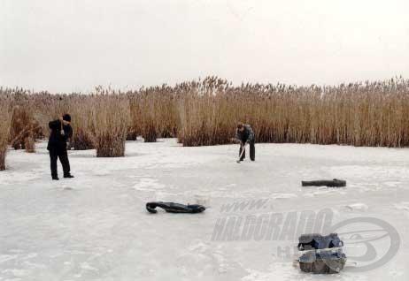 A nádassal tarkított öblök a léki horgászatok során is jó helyeknek bizonyulhatnak