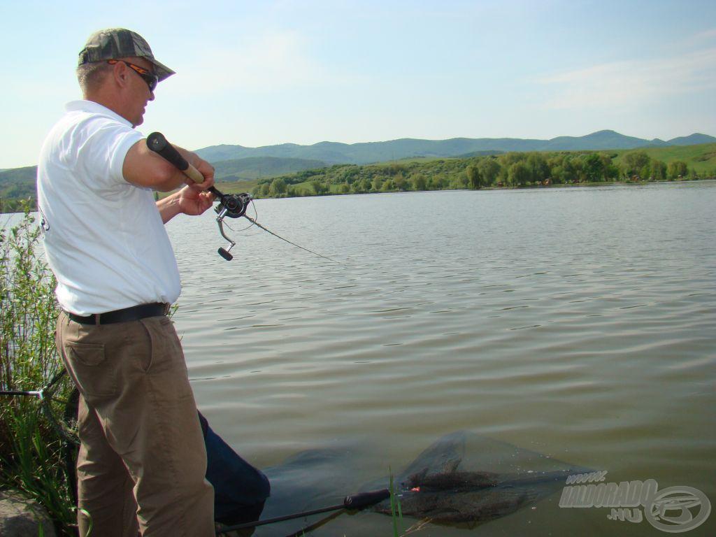 Nagy hal a horgon!