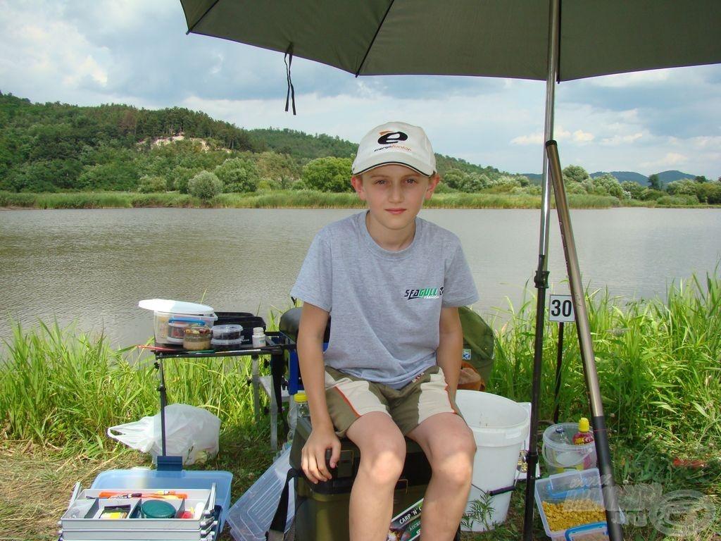 Balázs Gergő, profi horgászhely
