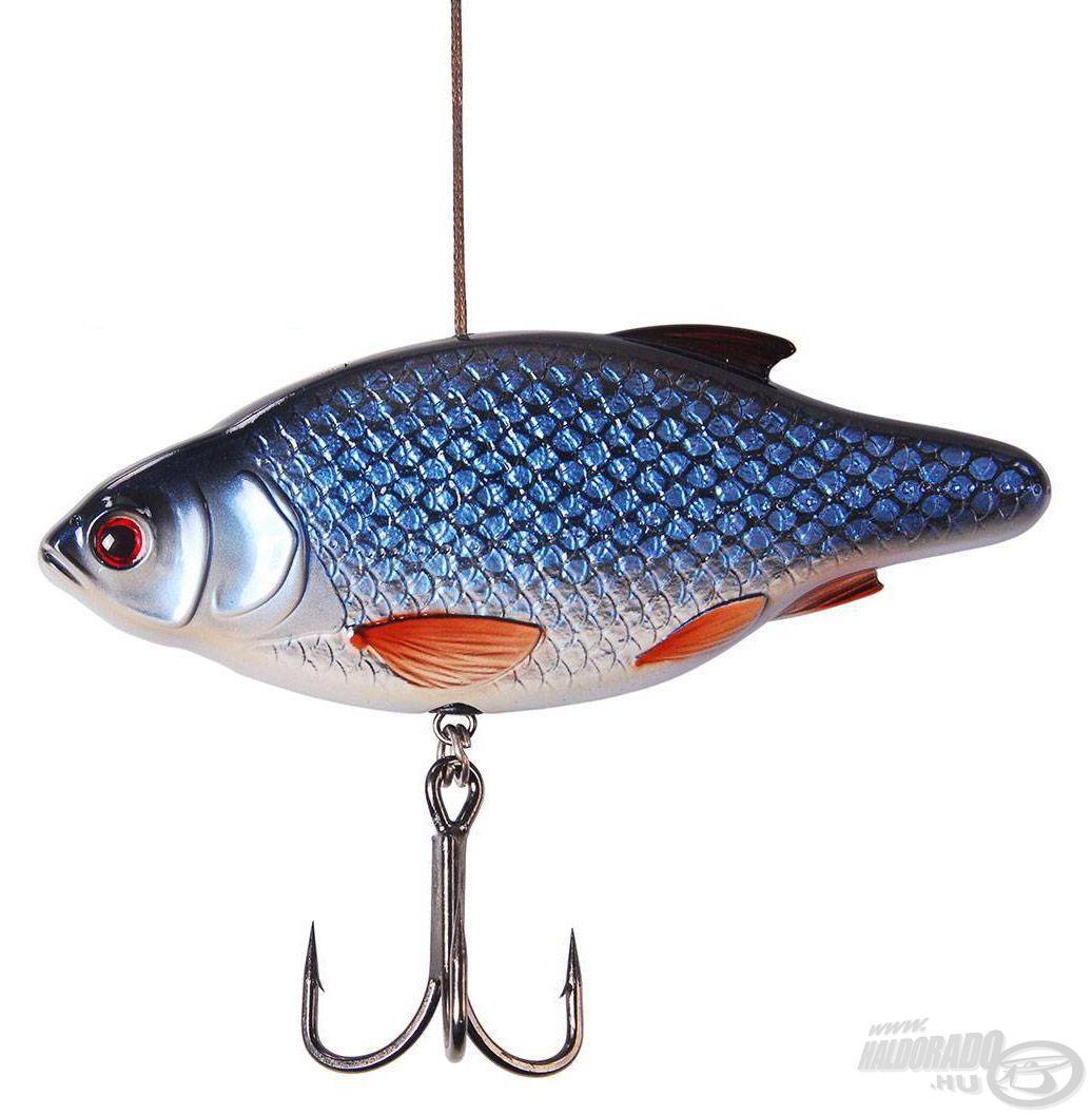 Ez az Inline Rattler élethű bodorka mintázattal és nagyon masszív kivitelben készül, kimondottan az európai harcsa horgászatára fejlesztették ki!