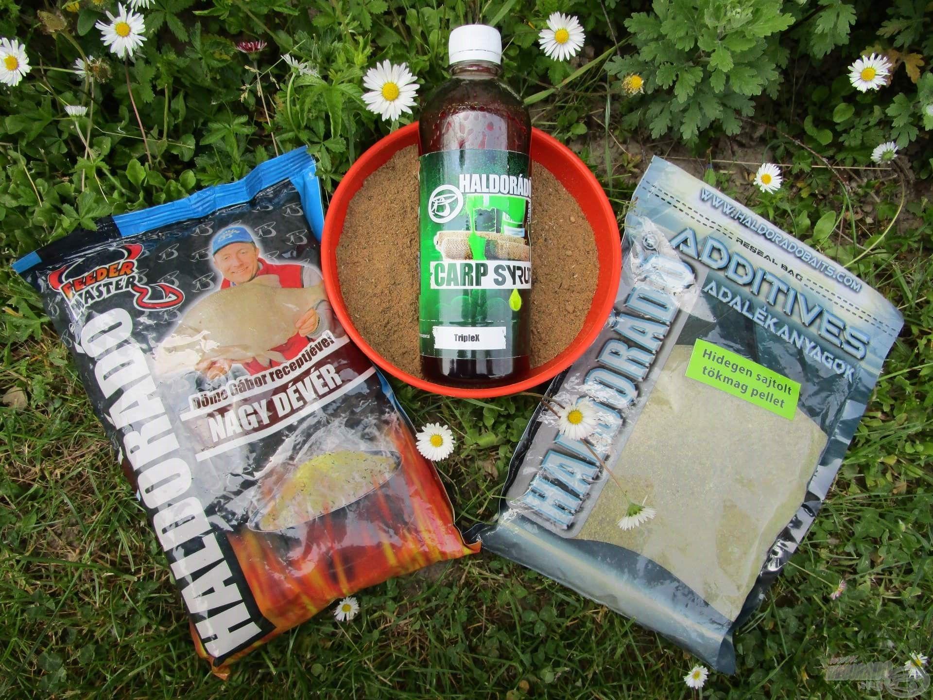 Tavasszal gyakran használom a Nagy Dévér etetőanyagot. Nagy kedvencem, hiszen egy szeszélyes vadvízen is megállja a helyét