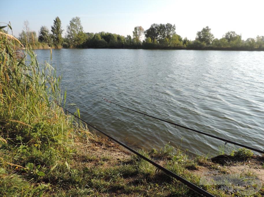 Napsütötte horgászhelyem