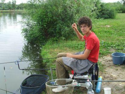 Matchbotos élménypeca a Tisza-tóról