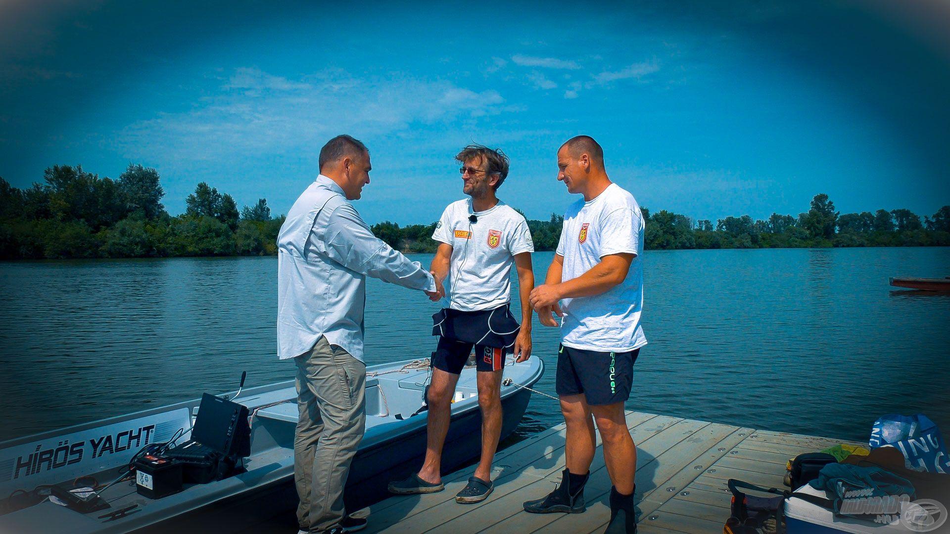 Nagyon köszönöm a Kelet-magyarországi Speciális Mentő Egyesület szakmai segítségét!