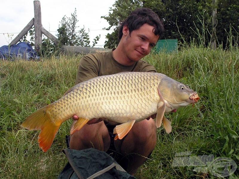 A túra első hala 5,5 kg-ot nyomott