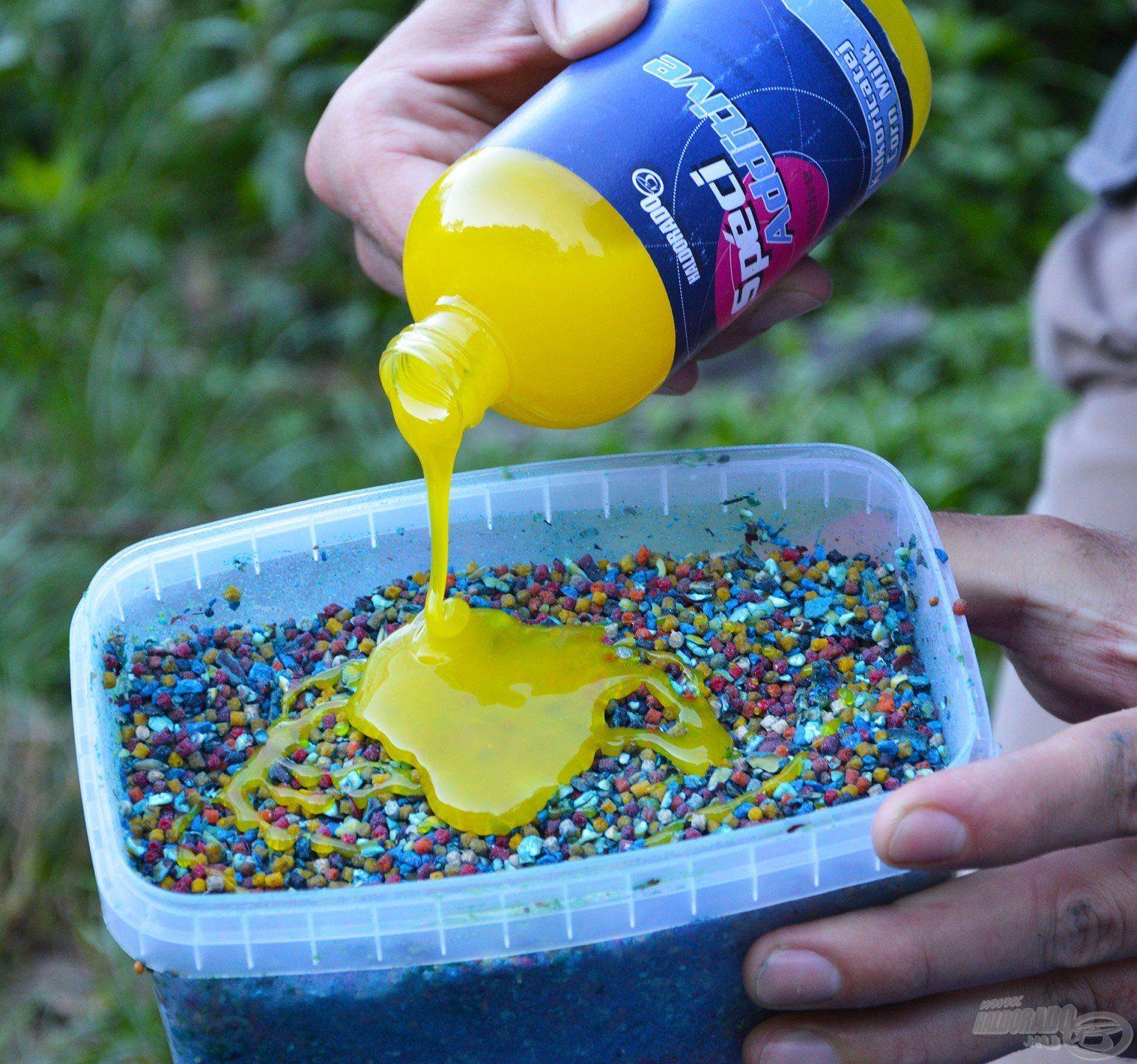 A keverék nagyszemcséjű alkotóelemeinek a SpéciAdditive Kukoricatej ad különleges ízt és aromát