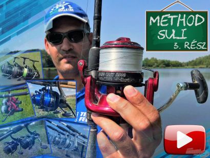 Method suli 3. rész – Az alap feeder felszerelés összeállítása, a megfelelő orsó kiválasztása