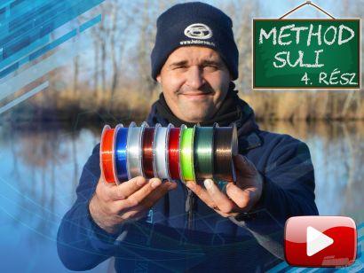 Method suli 4. rész – Feeder zsinórok és dobóelőkék