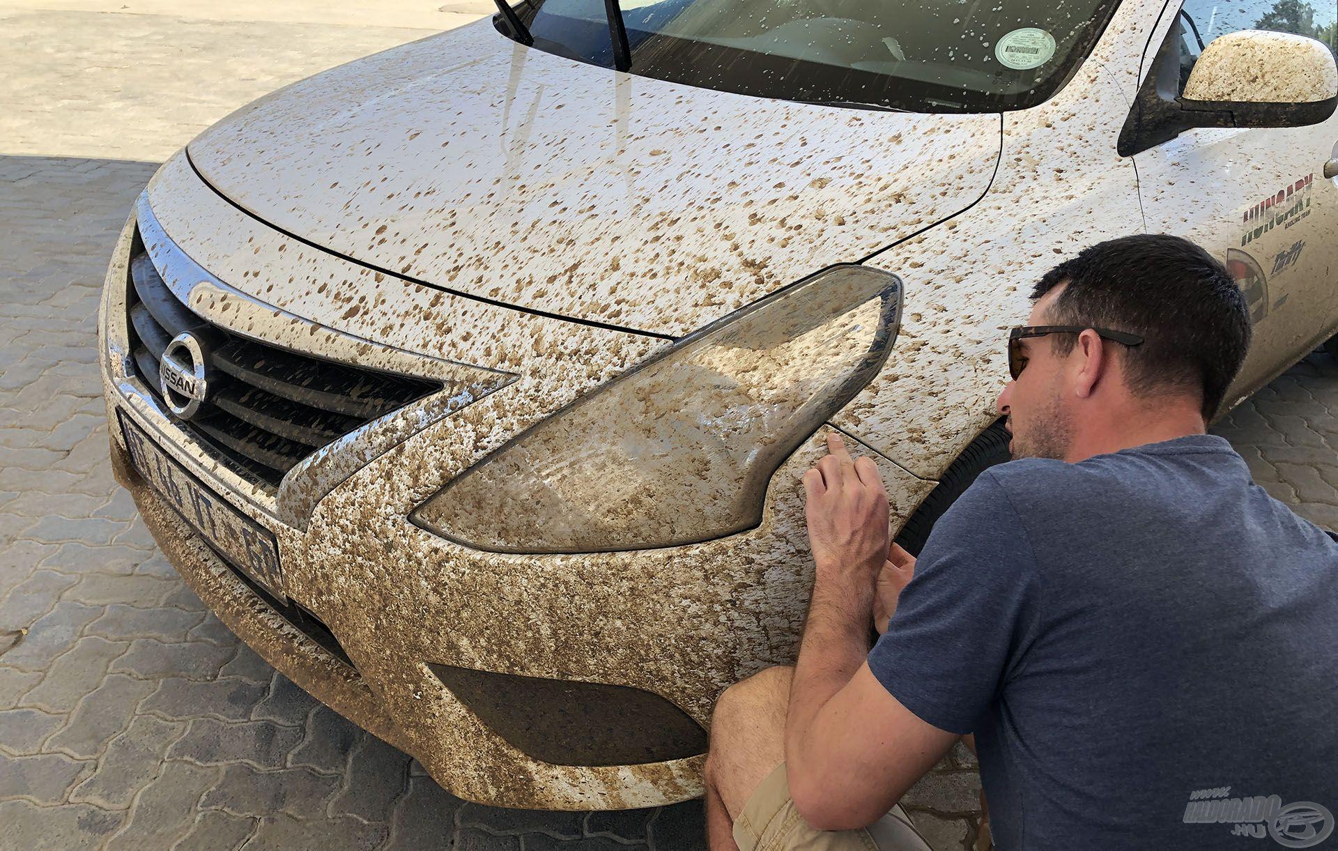 Javaslom, Dél-Afrikából ne vegyetek használt Nissan gépkocsikat, mert sok mindent kellett a kocsiknak kibírniuk…