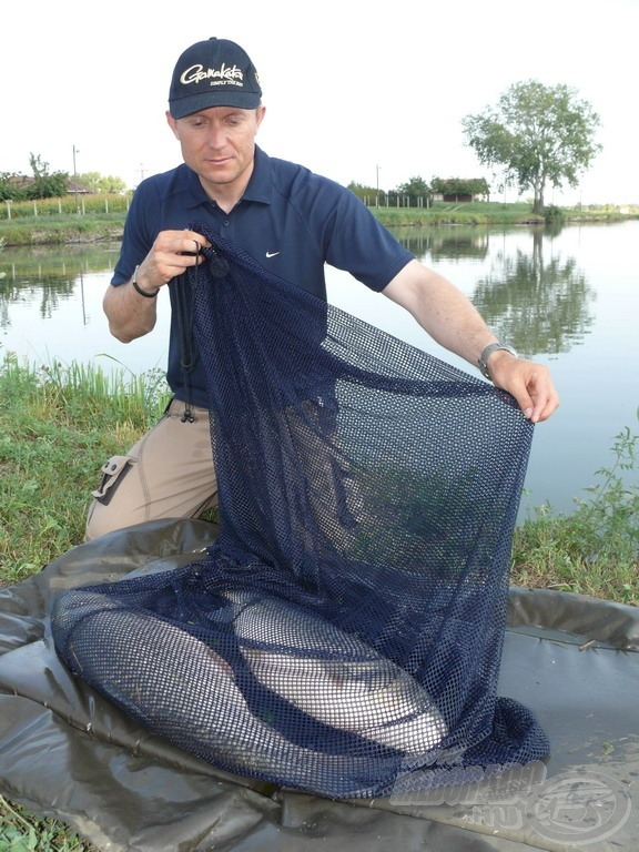 A pontyzsákok kifejezetten a termetes, kapitális halak biztonságos tárolását szolgálják