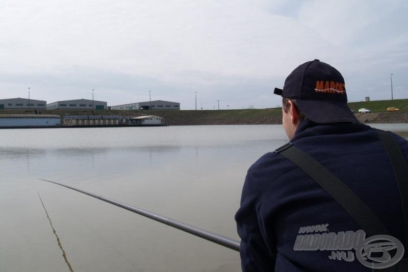 Próbálkozásunk helyszíne a Szegedi Téli kikötő