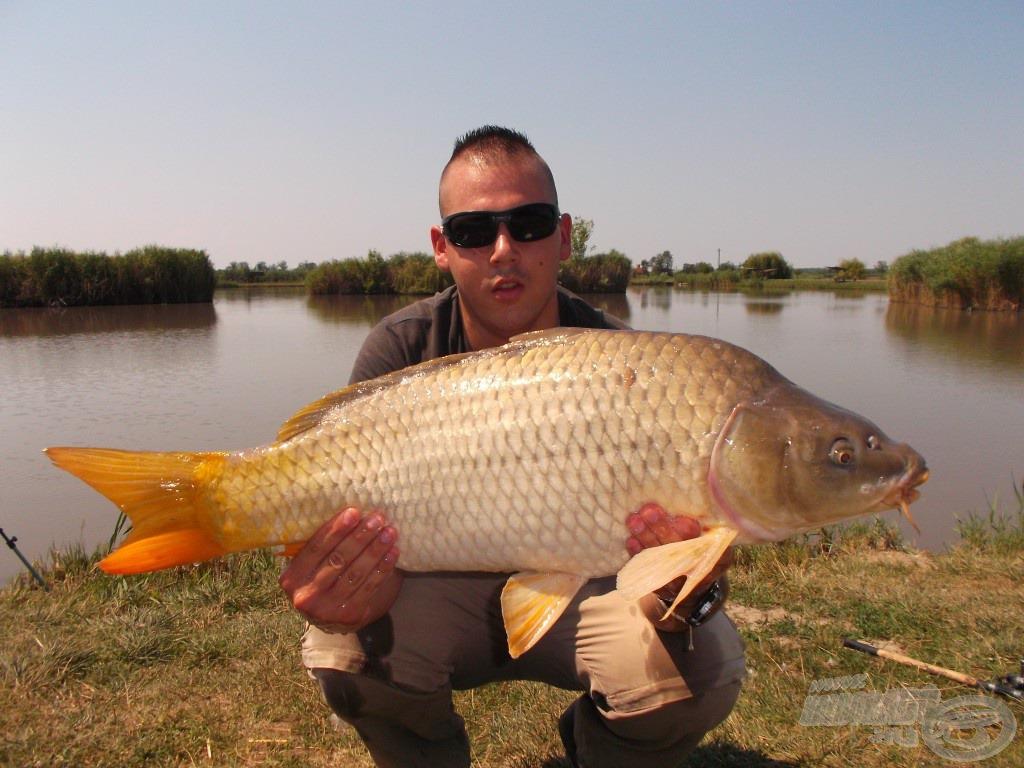 A nap második nagytestű hala, 7,88 kg