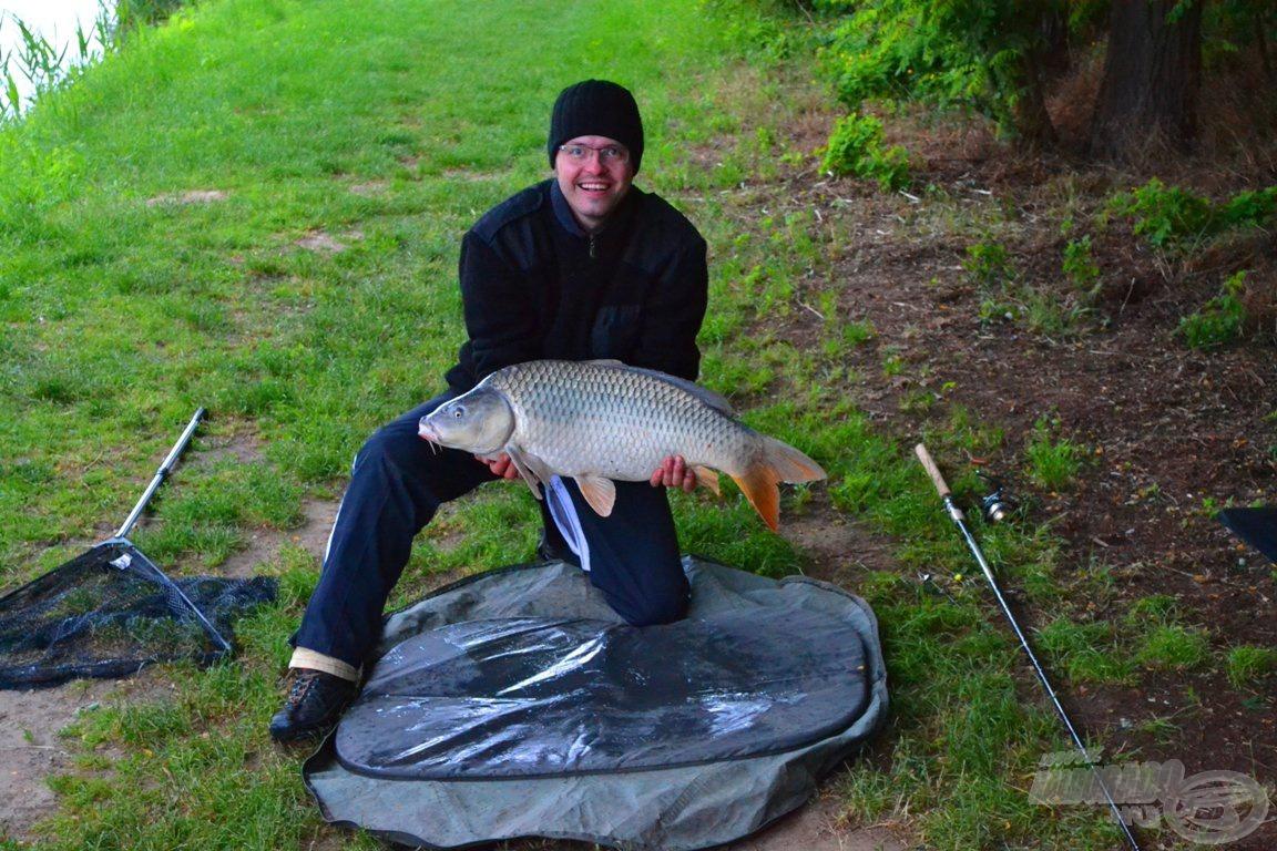 8,7 kilogrammos volt a legnagyobb hal, amivel az orsót tesztelhettem