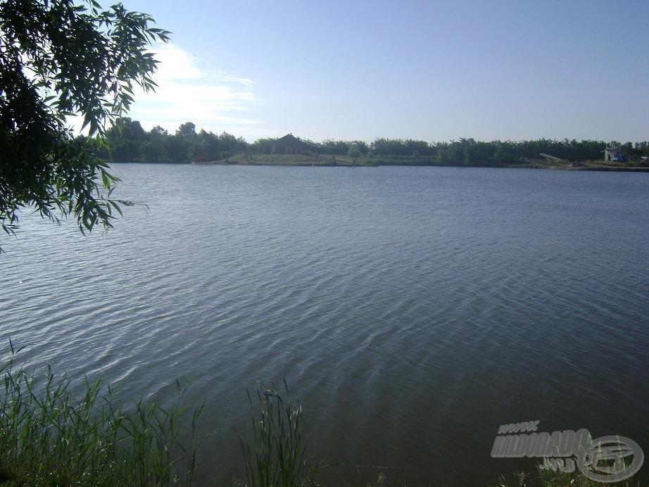 Az általam választott horgászhely
