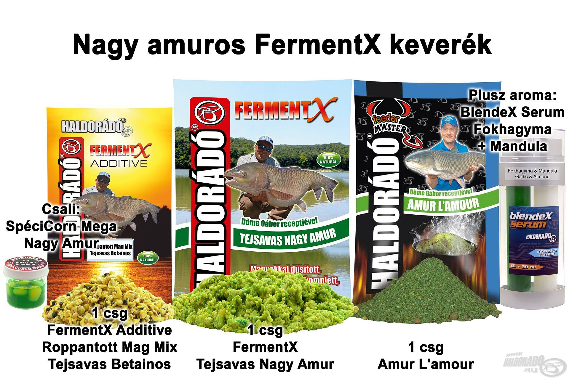 Nagy amuros FermentX keverék