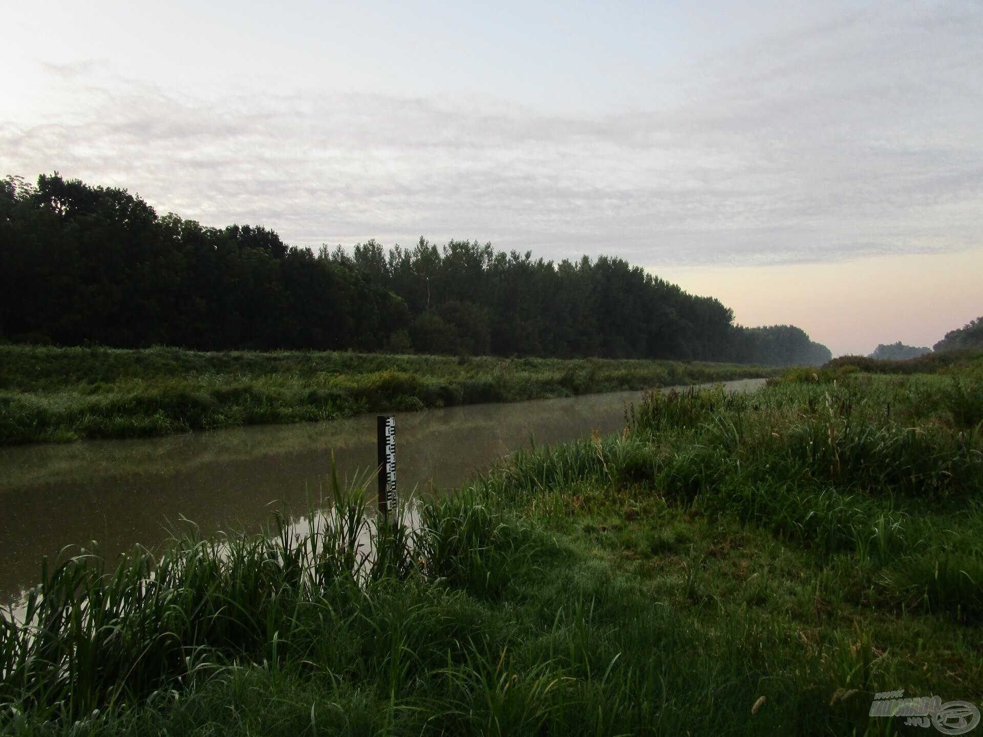 Korán keltem, hogy időben el tudjam kezdeni a horgászatot