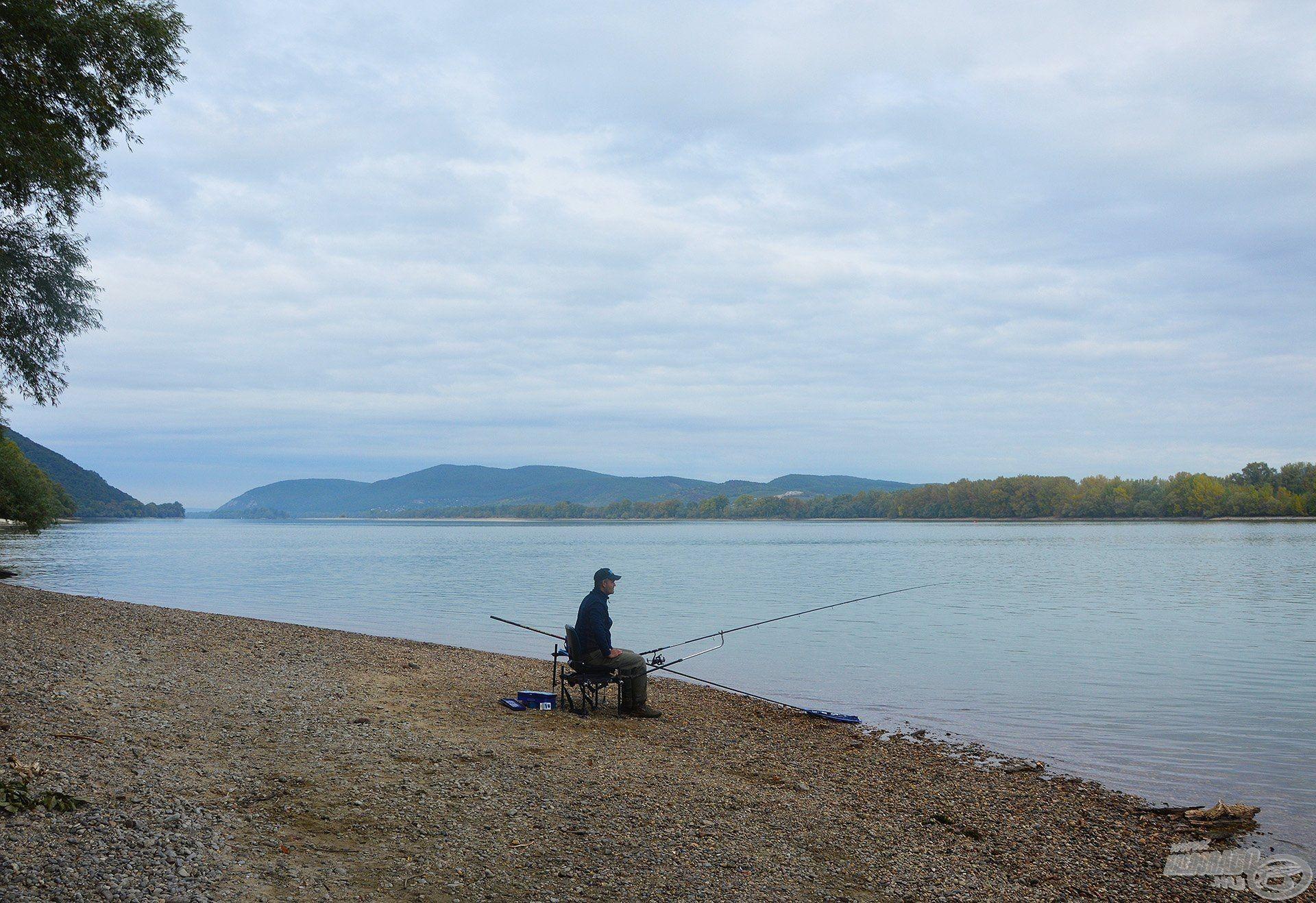A folyóvízi horgászat varázsa semmivel sem összehasonlítható