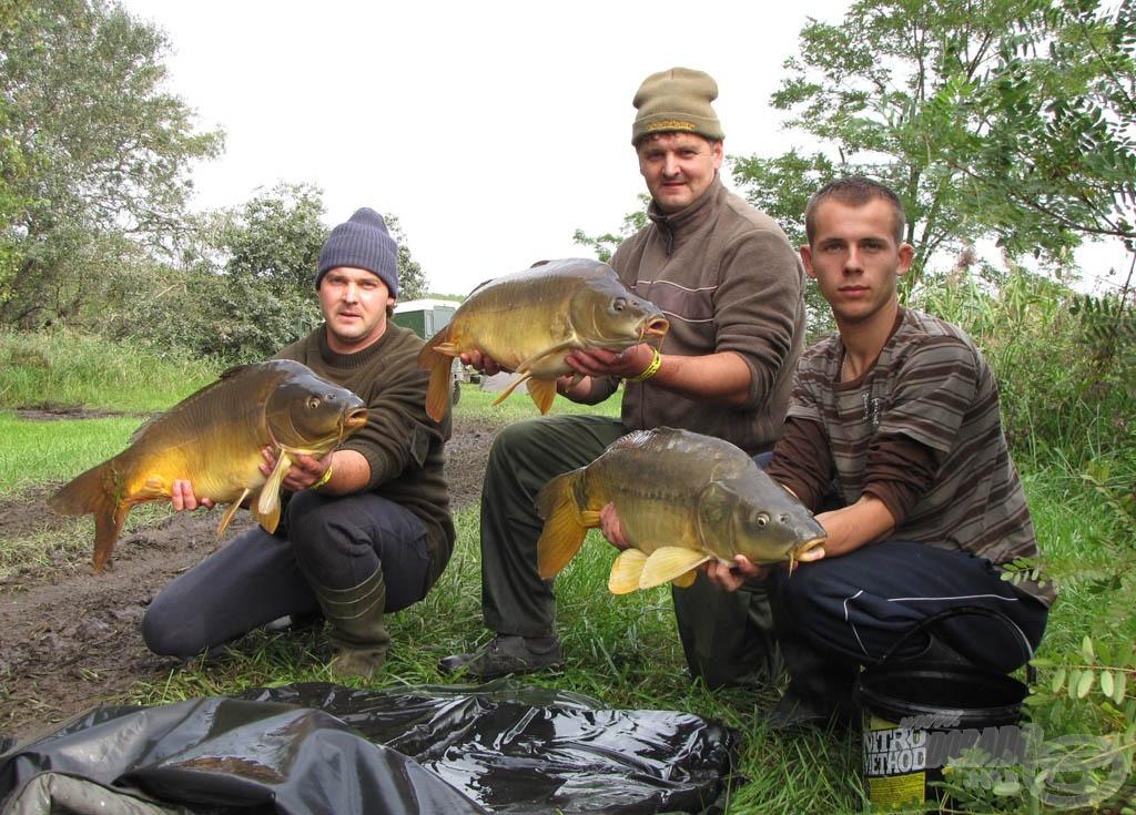 A halakkal szemben tanúsított kimagasló kíméletes bánásmódért különdíjat kapott a Kupás Fanatic Team