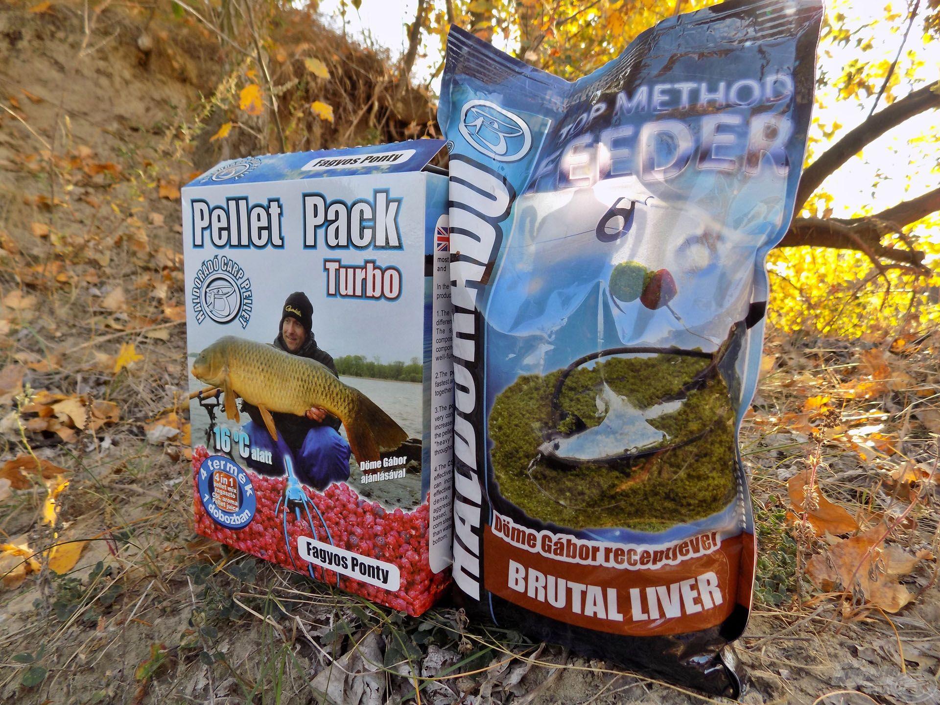 Haldorádó Pellet Pack Turbo - Fagyos Ponty és Haldorádó TMF - Brutal Liver. Biztosra vettem, hogy nem érhet meglepetés, ha e két nagyhal-csemegének szavazok bizalmat ezen a horgászaton