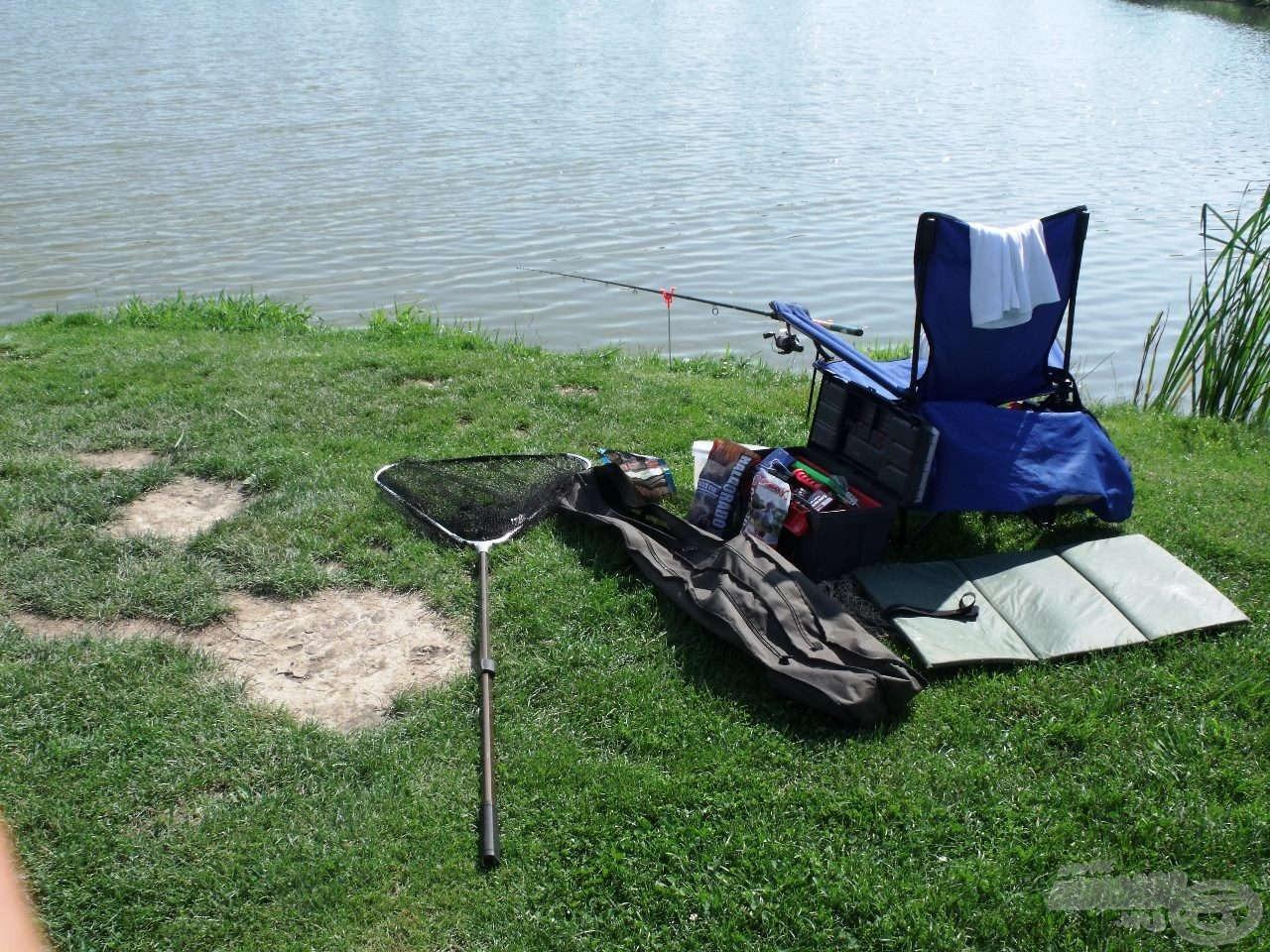 A kedvenc horgászhelyemen ülhettem ez alkalommal