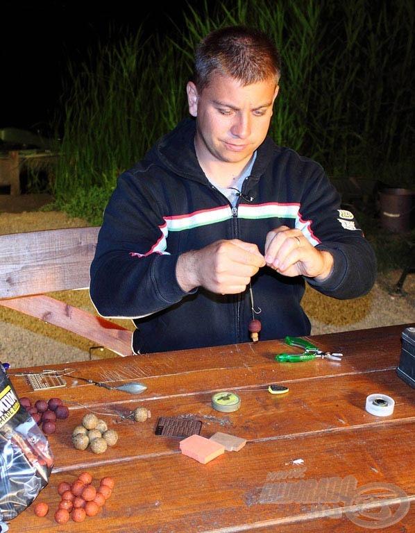 Kovács Zoltán, az SBS tulajdonosa és hazánk egyik ismert bojlis horgásza is előszeretettel használja