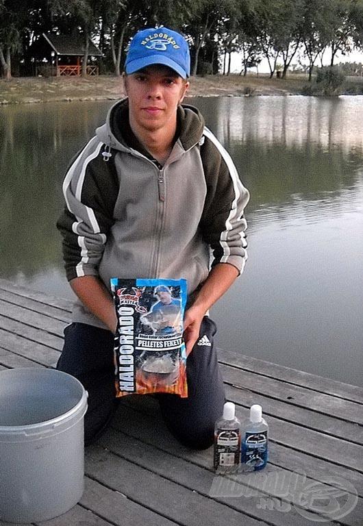 Haldorádó Pelletes Fekete - vele szerettem volna nagy sikert elérni a halaknál…