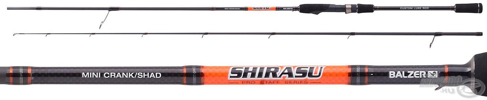 A Balzer Shirasu egy mindenki számára elérhető árfekvésű, mégis magas minőségű pergető botszéria