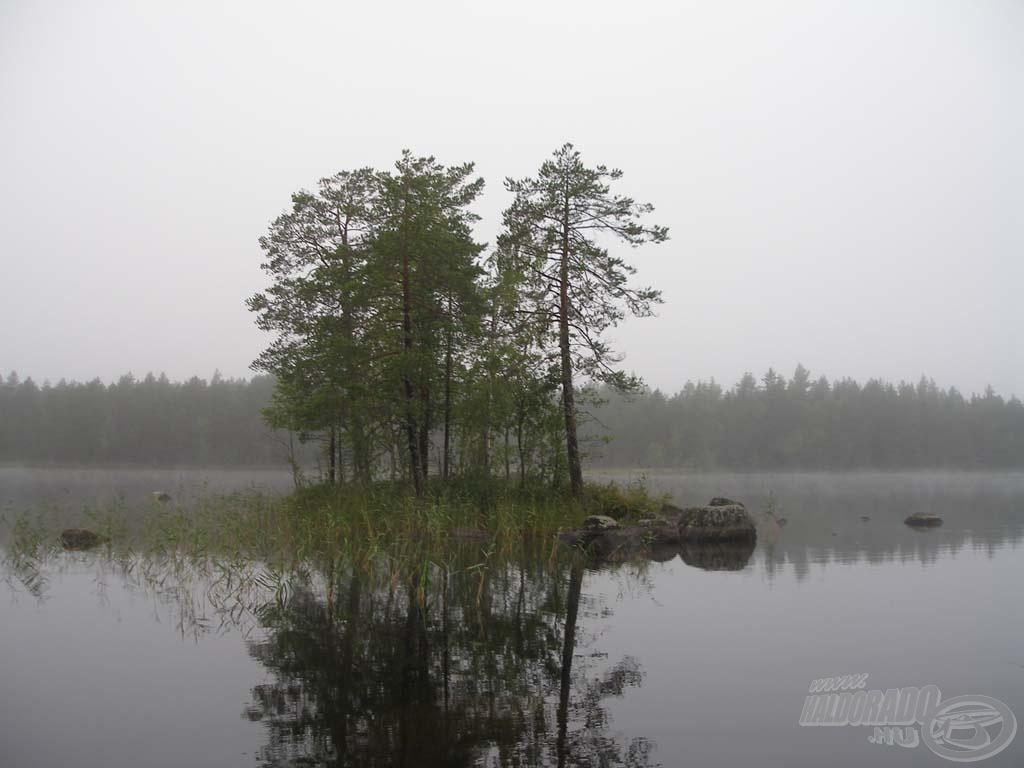 A szigetek körüli sekély víz nyerő hely