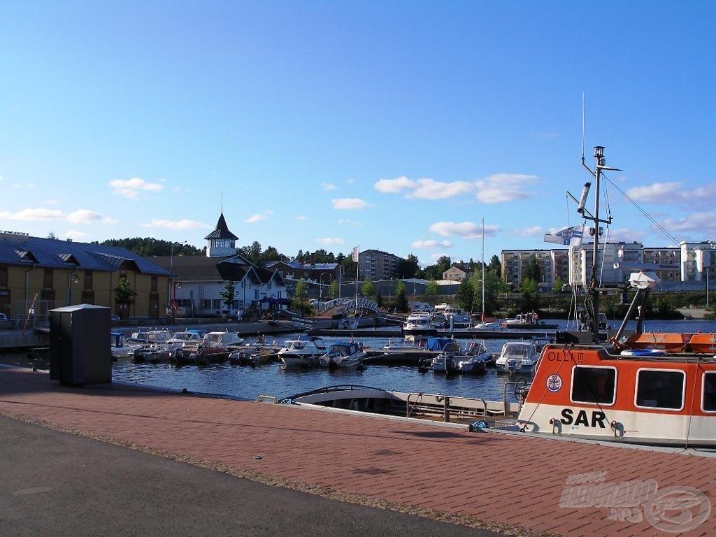 Kuopio város kikötője