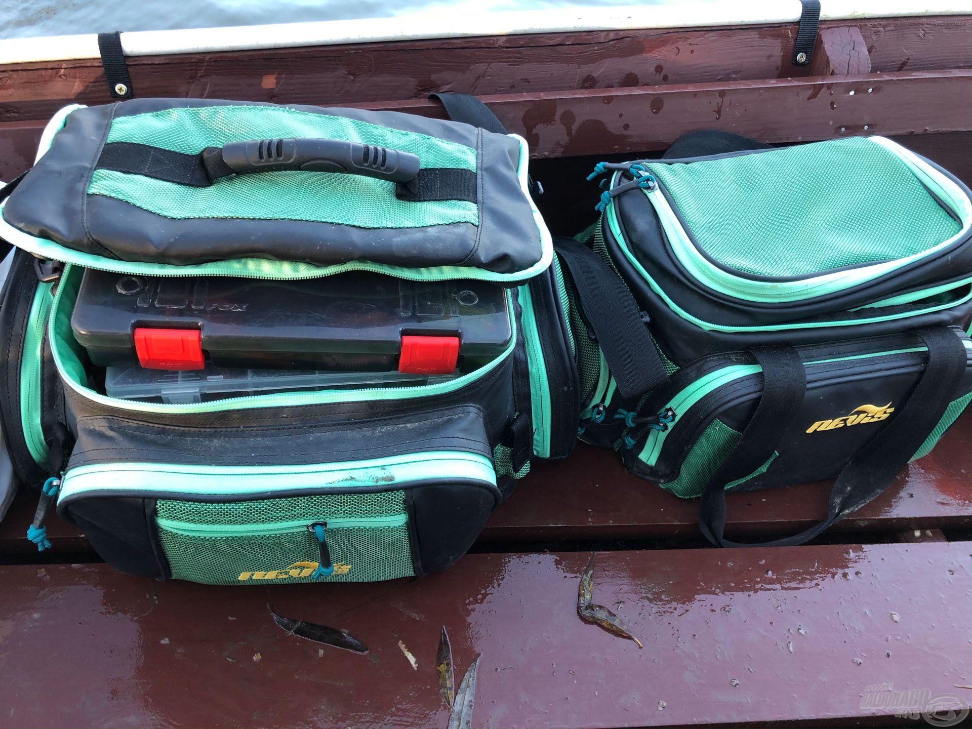 Év végére elkényelmesedve 2 Nevis pergető táska és jó napot…