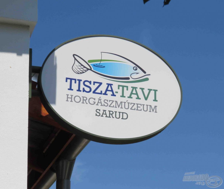 A horgásztábor egyik programja a Tisza-tavi Horgászmúzeum megtekintése