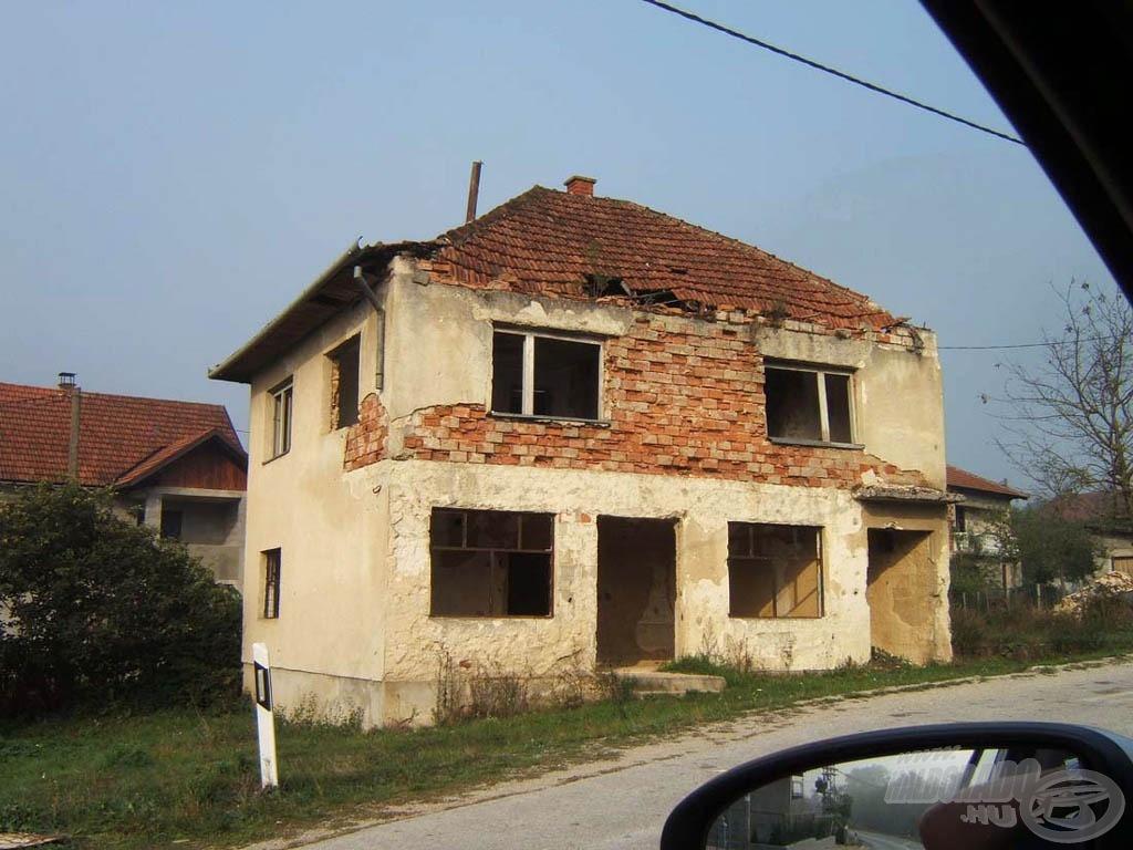 A szerbek, a horvátok és a bosnyákok hadszíntere is volt ez a rész