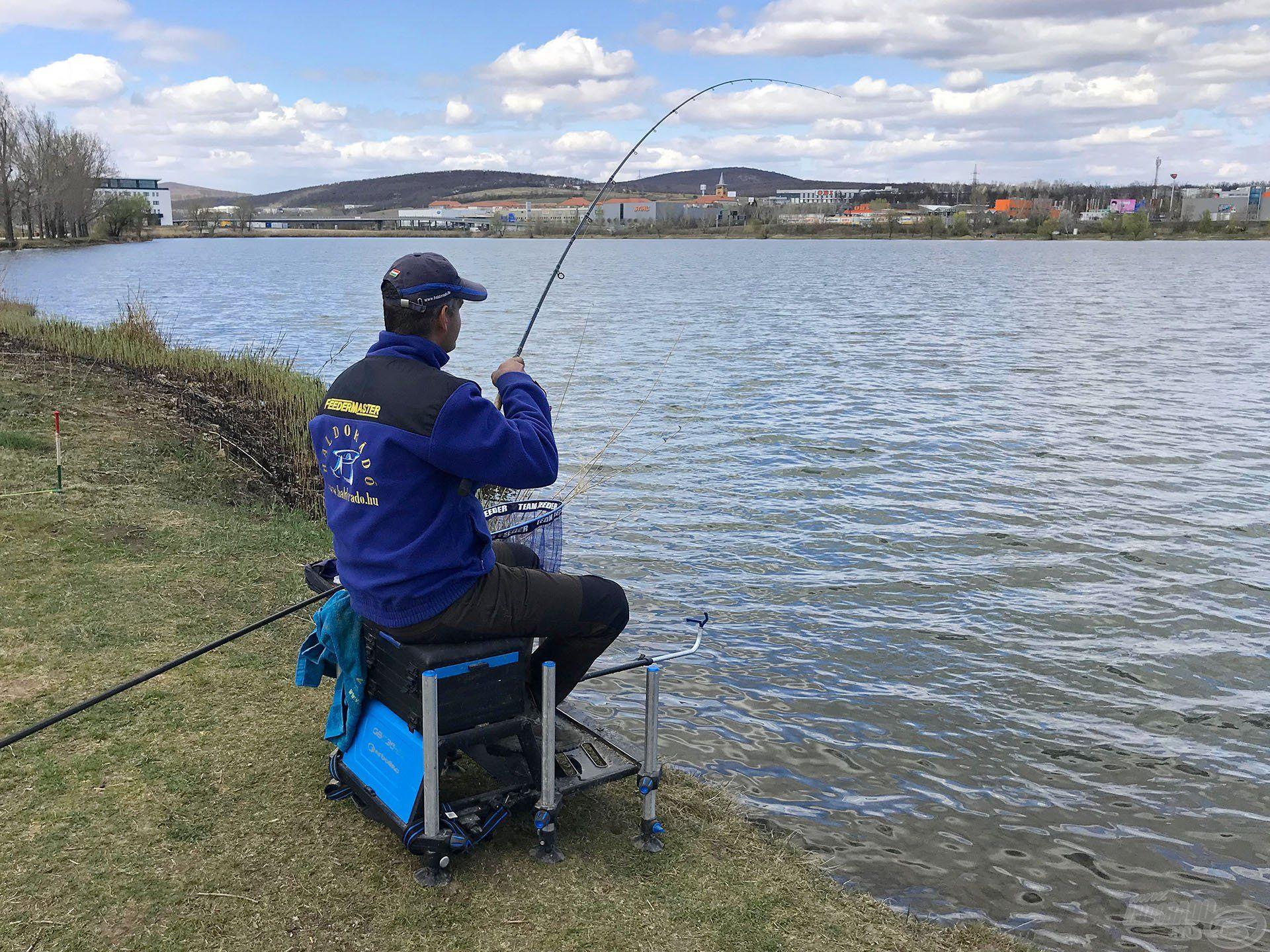 Minnél pontosabb a horgászat, annál gyorsabban érkeznek a kapások
