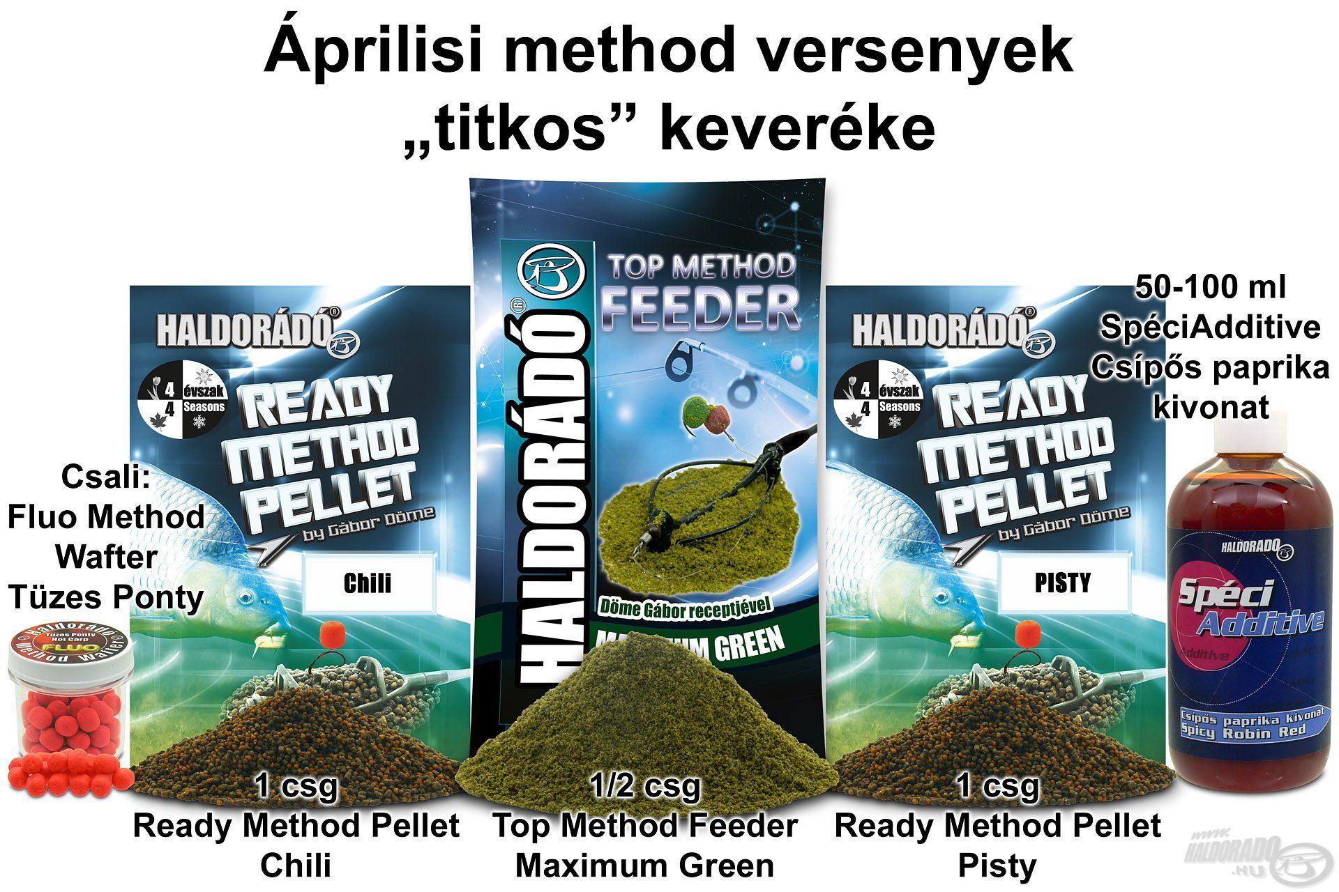 Ez a recept könnyen elkészíthető, könnyen kezelhető, így ideális a gyakorló horgászatokhoz, mert nem kell vele sokat bíbelődni, és persze roppant fogós!