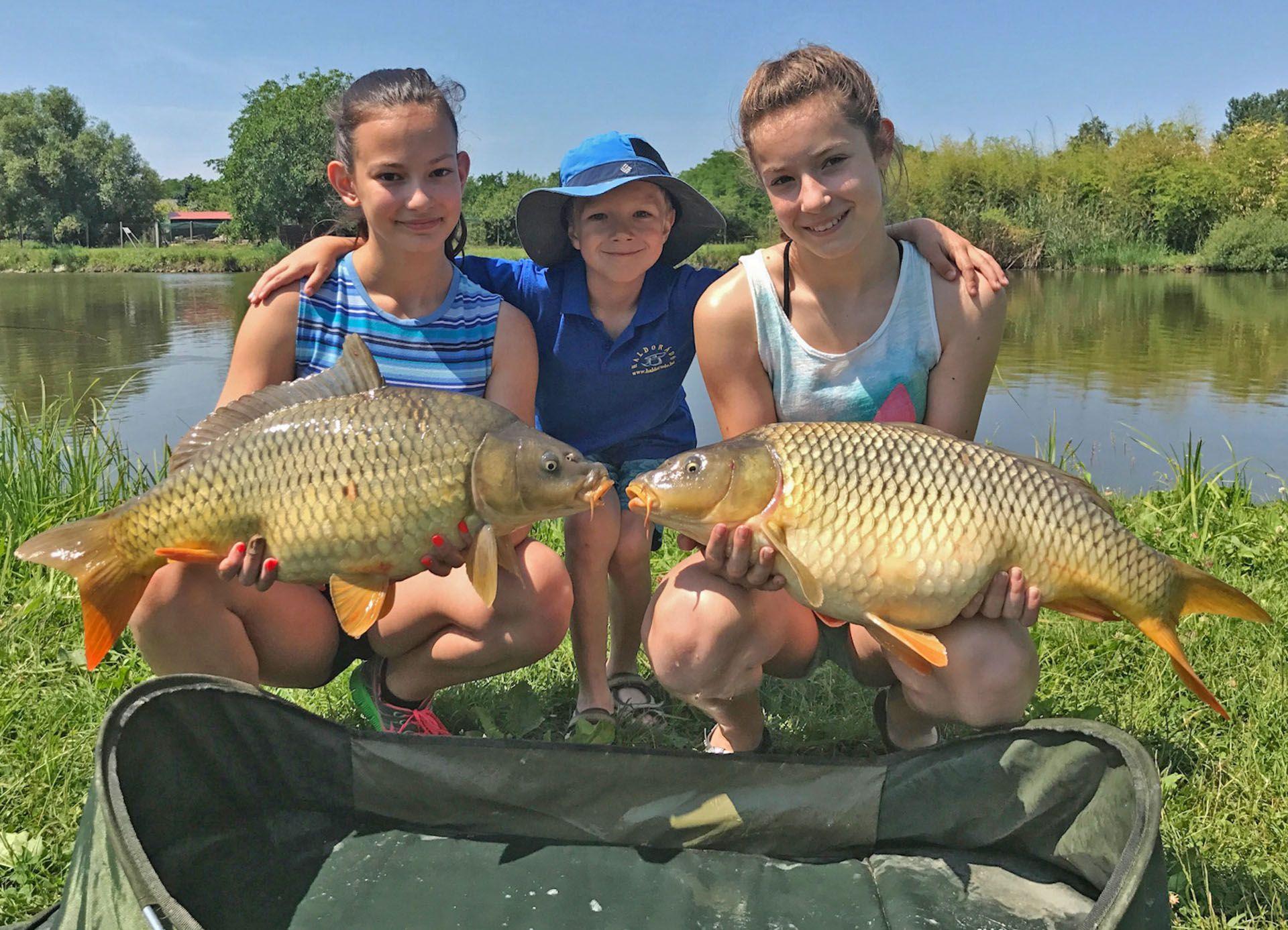 Végre elérkezett a várva várt nyár és a szünidő, végre gyermekeimmel is gondtalanul horgászhattam!