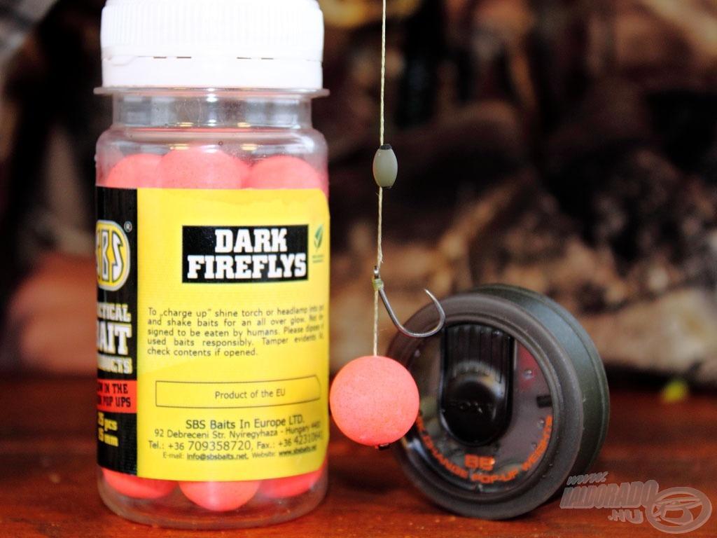 A negyedik egy szem lebegő Dark Firefly Strawberry Jam csali, az ehhez kapcsolódó csalizási módszert a kisfilmben megtekinthetitek