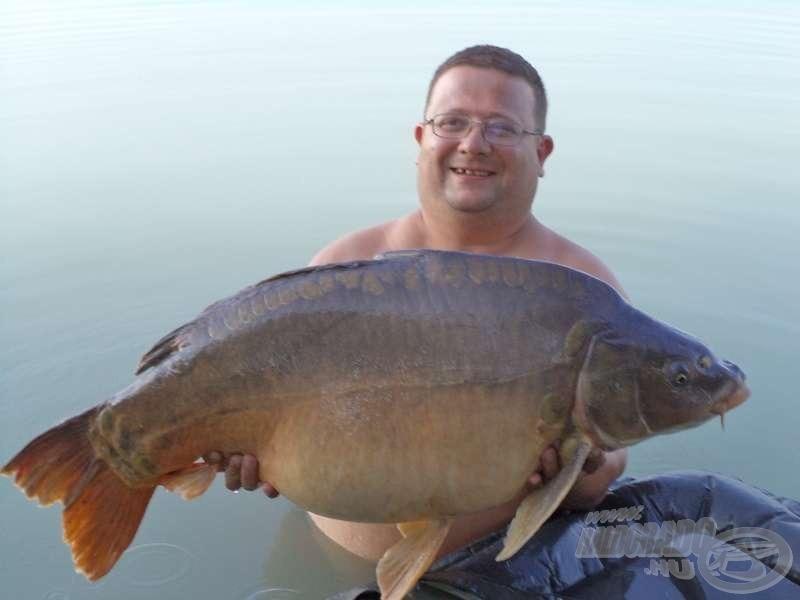 Beregszászi Zoltán, 19,41 kg