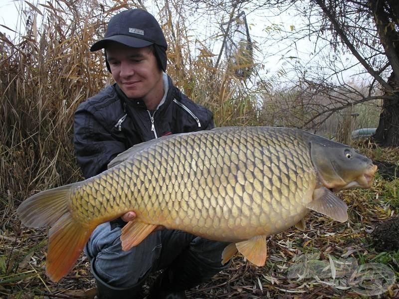 Ilyen szép hal lehet a kitartó horgászok jutalma Palotáson, akár a legbarátságtalanabb időkben is!