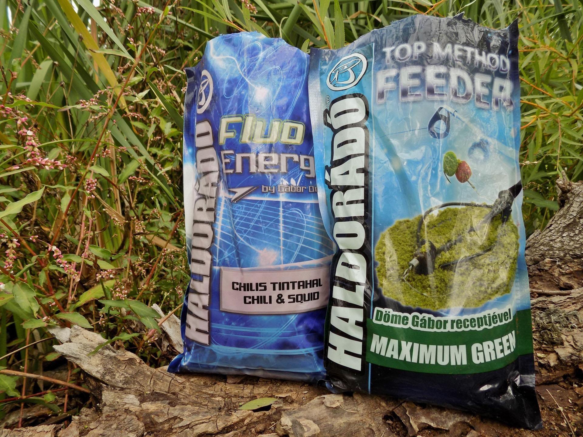 A Haldorádó Fluo Energy - Chilis Tintahal és a Haldorádó Top Method - Maximum Green bár merőben eltérő színű, ízű keverékek, remekül harmonizálnak egymással. Mindkét keverék teljesen homogén, lisztfinomságú, amit…