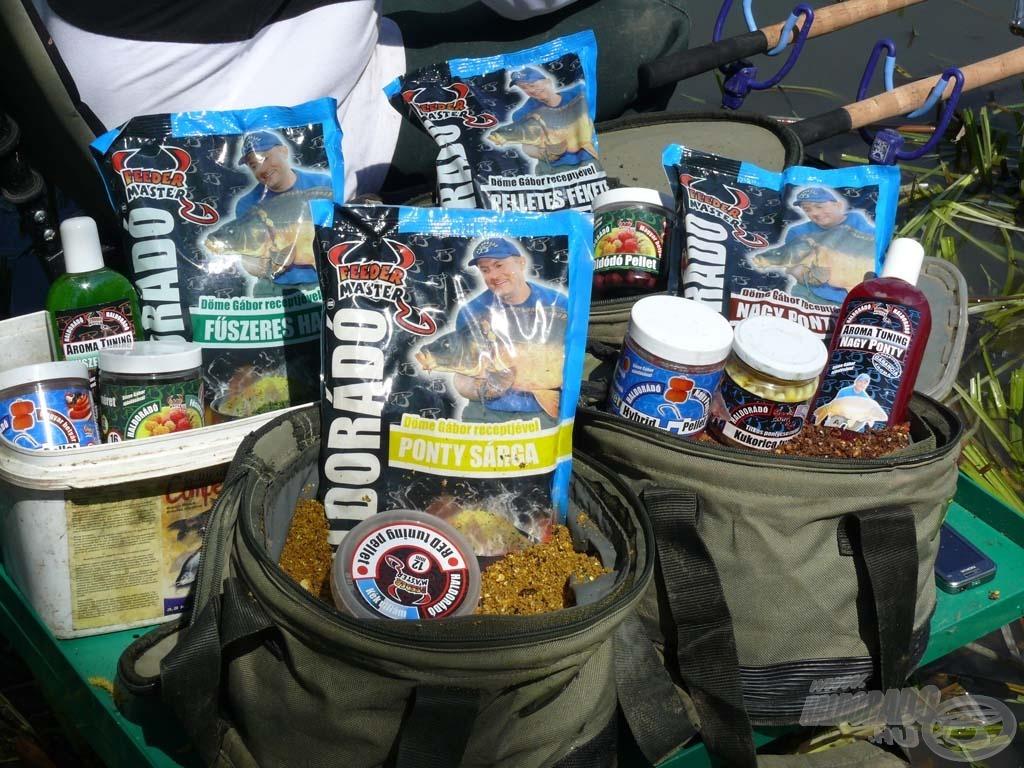 A horgászat során használt etetőanyagok és csalik