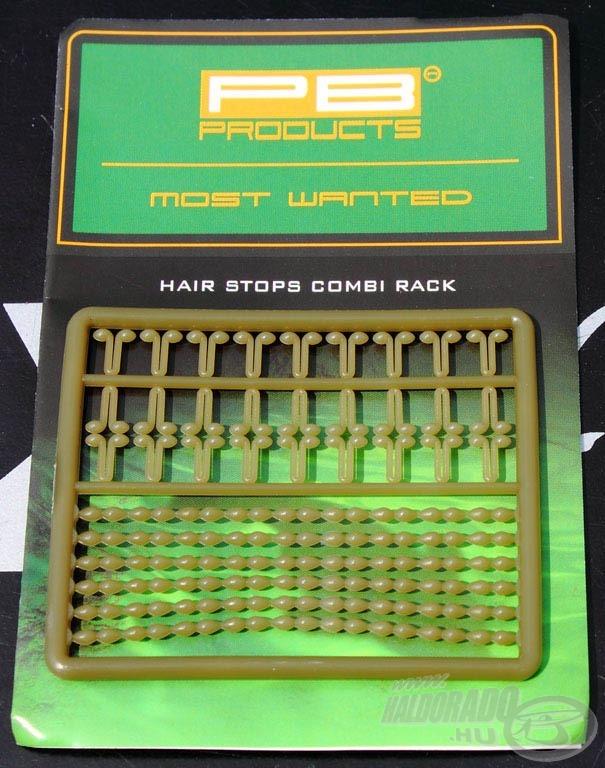 A PB vegyes bojlistopper hagyományos stoppert és közepes méretű V alakú stoppert tartalmaz