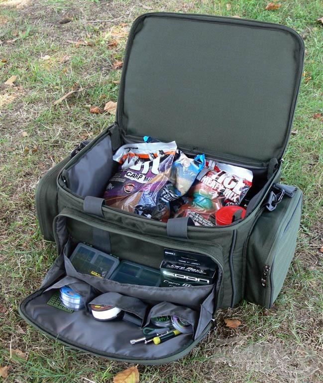 Ez a Pontyozó szerelékes táska nemcsak remek tároló eszköz…