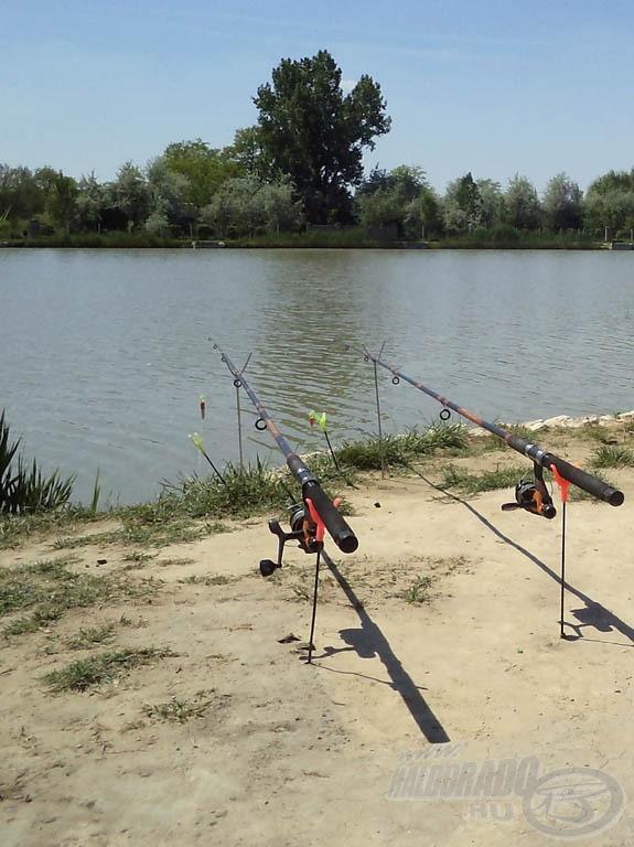 Az első horgászbotom