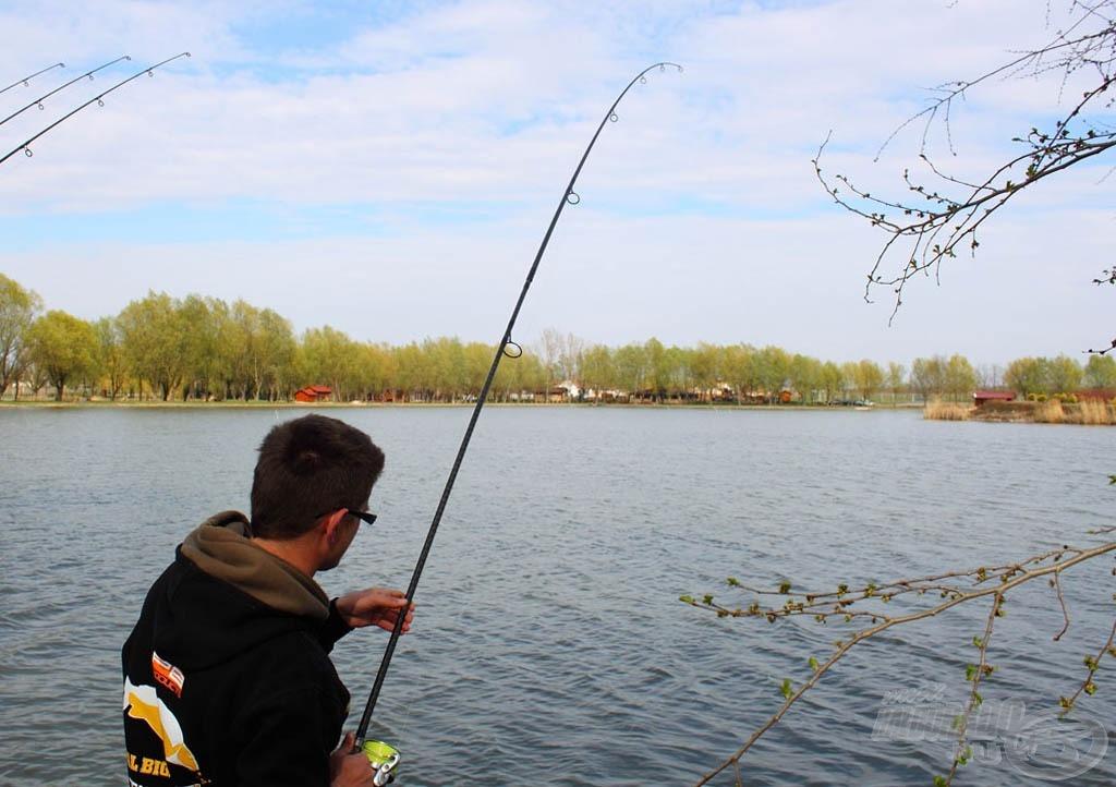 Óramű pontossággal érkezett meg a szerelék bemutatását követően az újabb hal…