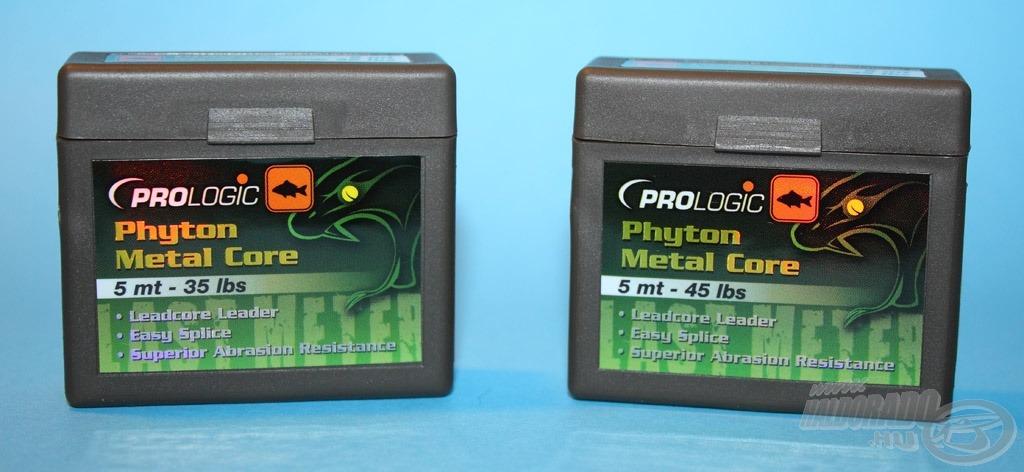 Hagyományos ólombetétes előtétzsinór a Phyton Metal Core